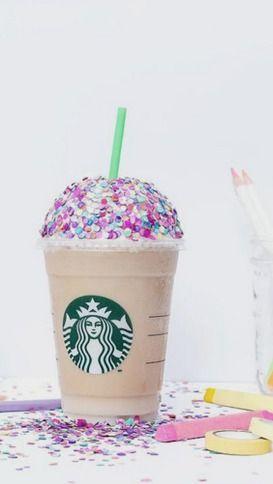 Starbucks paillettes multicolore