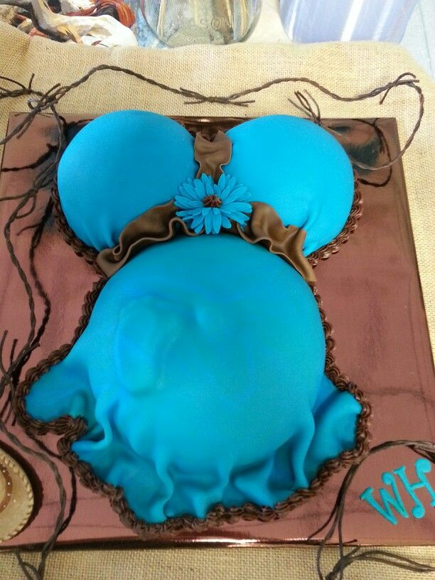Pregnant Belly Baby Shower Cake Pan