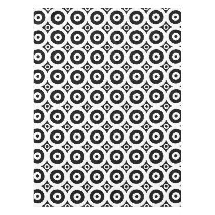 Abstract pattern - black and white. tablecloth - Xmas ChristmasEve Christmas Eve Christmas merry xmas family kids gifts holidays Santa