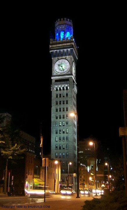 Historical Pictures of Baltimore Maryland | ... - Historic Emerson Bromo-Seltzer Clock Tower in Baltimore, Maryland