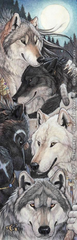 ✯ Moonlight Pack :: Artist Christy Grandjean ✯ This featured artist can also be seen in the Winter/Spring issue of COLORED PENCIL Student - http://www.magcloud.com/browse/issue/489107