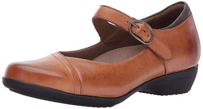 0ca336f0fb Amazon.com   Dansko Women's Fawna Mary Jane Flat   Shoes   Clothes ...