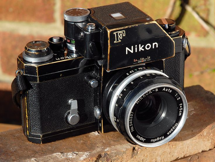 Nikon F.... | .....now with added patina - bought a similarl… | Flickr