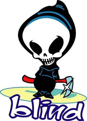 Skateboard Logos | Skateboard Logos - Blind Death - Gallery of Logos of Popular ...