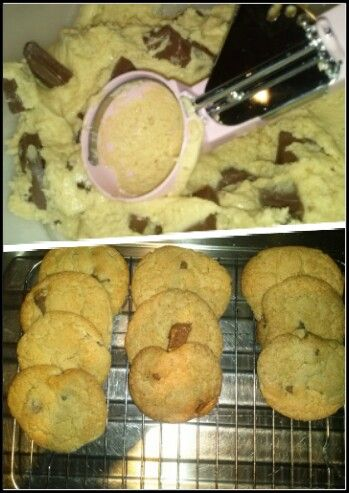 T'was the night before christmas and fresh baked cookies was on my list xo