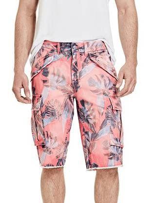 6cf8660460 Carter Washed Palm Cargo Shorts | GUESS.com | GUESS / Men | Shorts ...