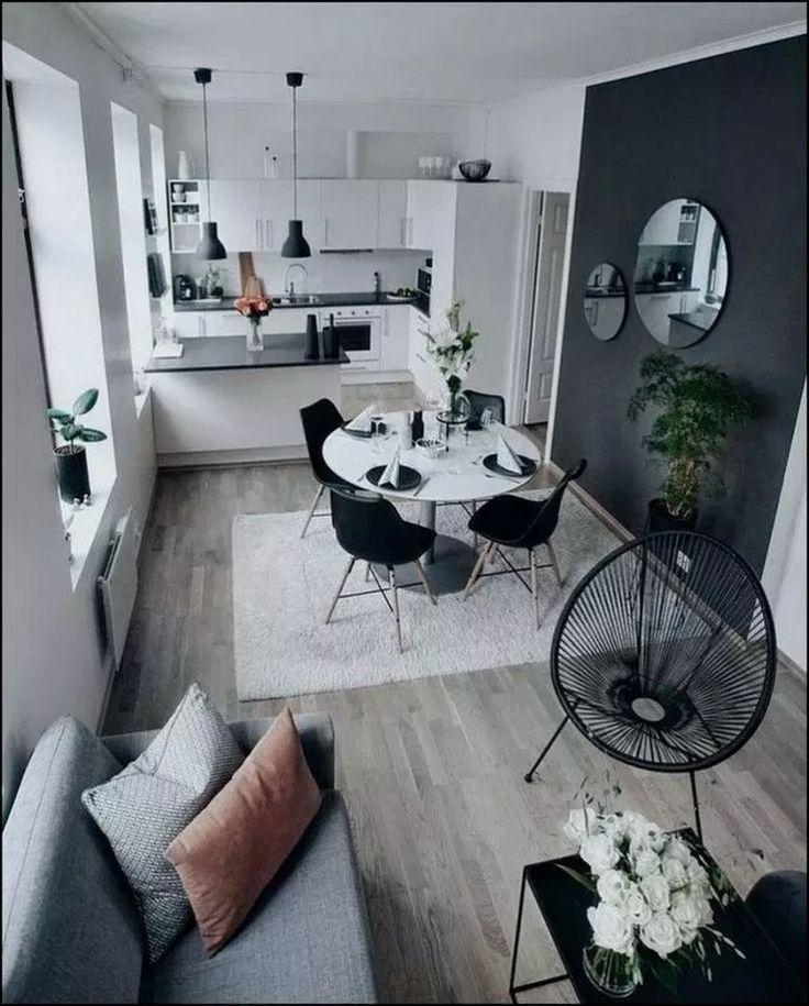 29+ cinza pequeno apartamento sala projetos para olhar fantástico … -…   – Einrichtungsideens
