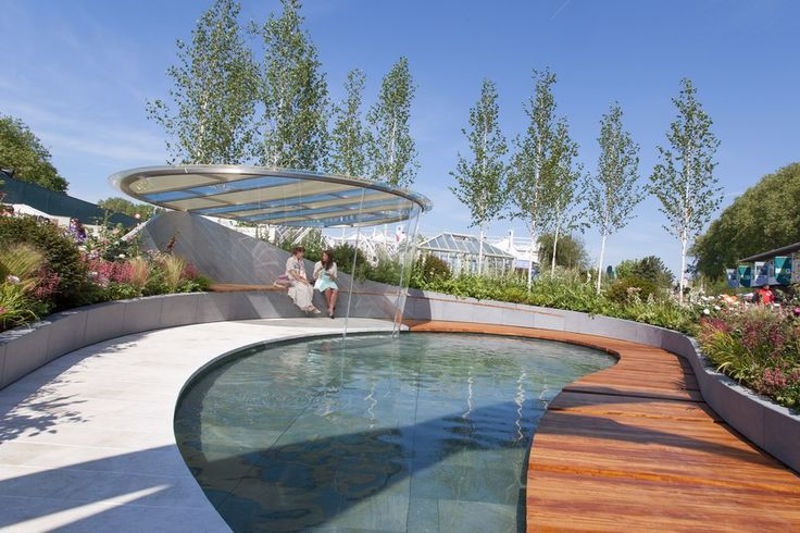 With RHS Chelsea Flower Show in full swing, take a look back at this 2014 entry.  Talbot Designs provided Perspex® acrylic for the central seating area, giving superb views of the garden.