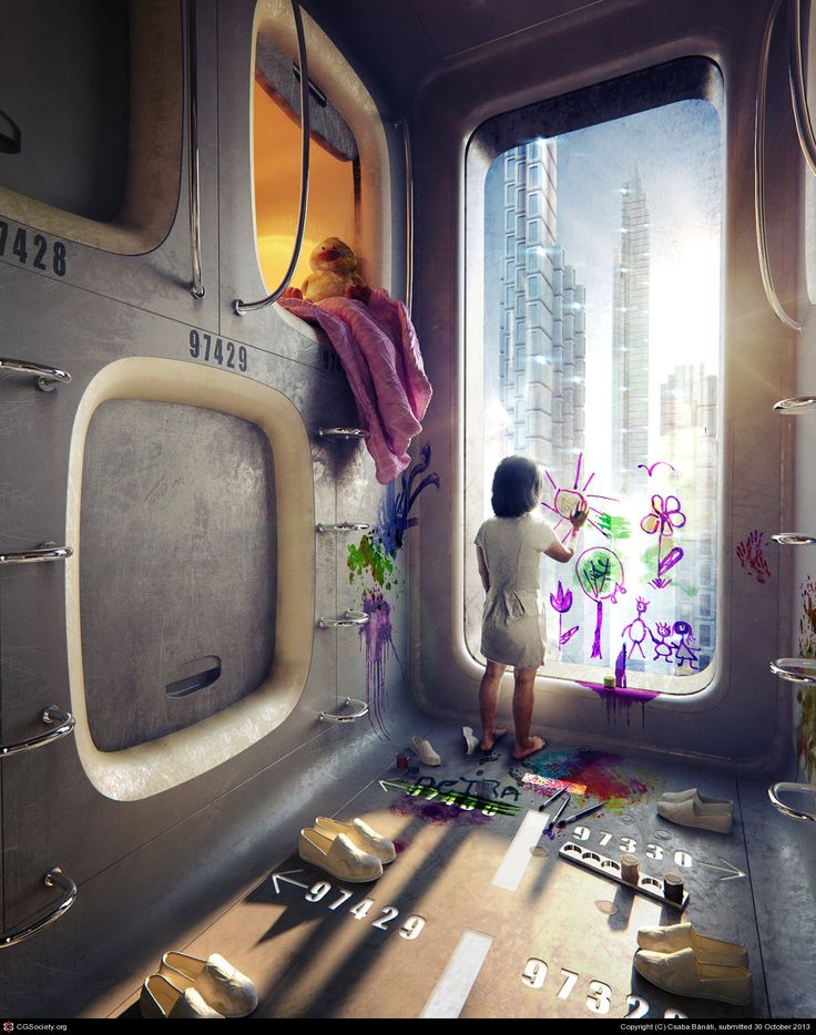 Capsule Homes by Csaba Bánáti | 3D | CGSociety