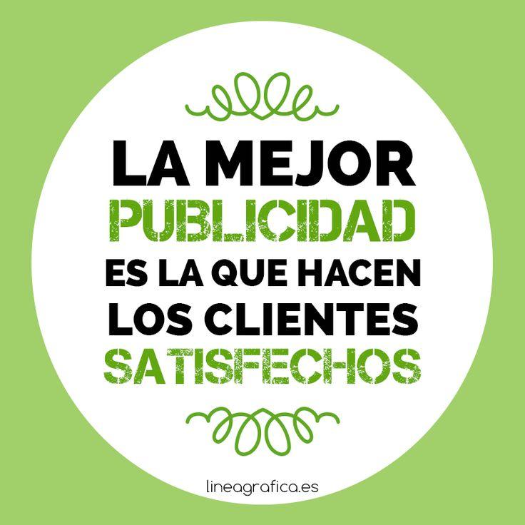 Frase marketing. Publicidad. Clientes. Ecommerce. Marketing online.