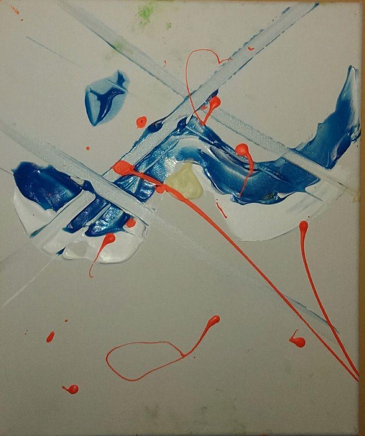 Wings   2011 Acrylic on canvas with phosphorescence Artist: Franz Vanderkraan