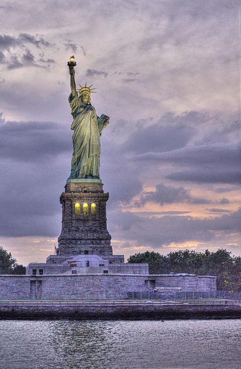 Statue of Liberty, New York, USA...