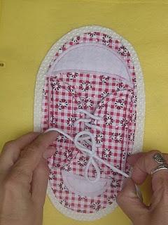 The girls shoe