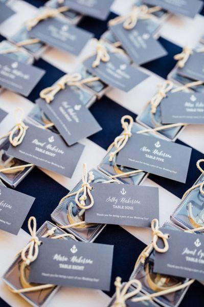 40 ideas para tener una boda de estilo marinero. ¡Toma nota y triunfa! Image: 18