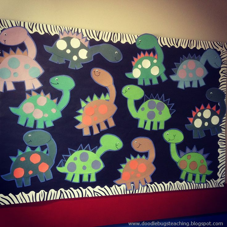Cute dinos! From doodlebugs blog