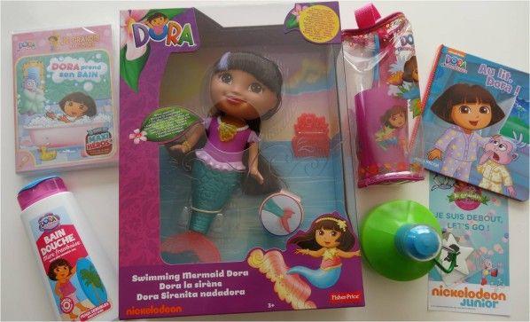 Lucky Sophie_ La poupée de bain Dora sirène de Fisher Price {concours}