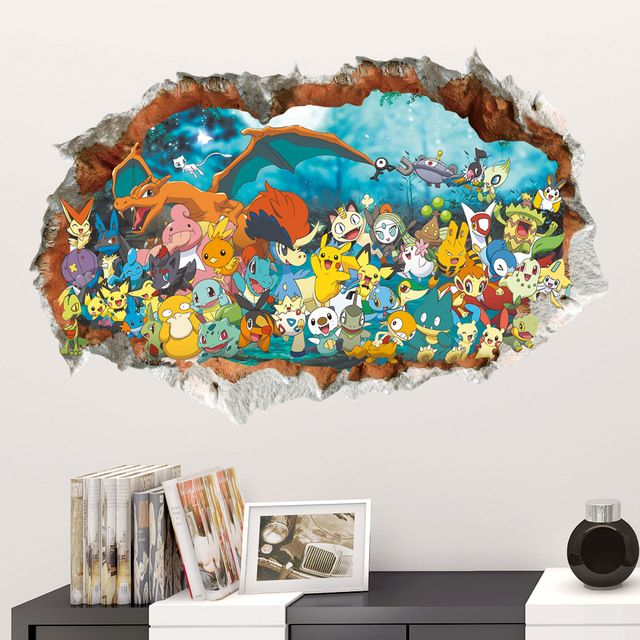 Check lastest price 3D Game Pokemon Go Wall Sticker Decals Decor Art Vinyl Kids Baby Nursery Mural DIY Poster Children Room Decorations  just only $3.51 - 4.61 with free shipping worldwide  #wallstickers Plese click on picture to see our special price for you
