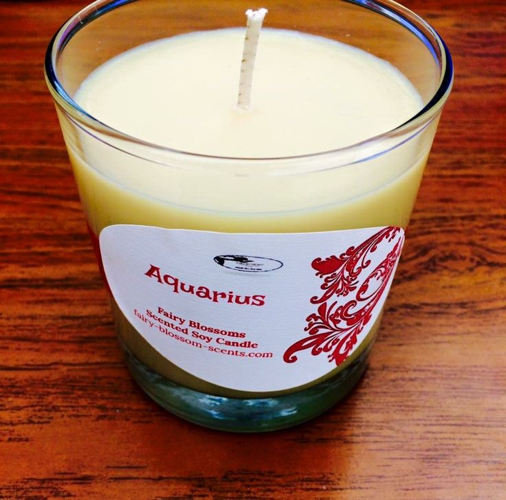 8 oz. Fairy Blossoms Scented Soy Candles