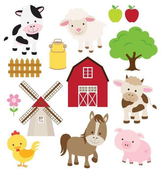 Pixerstick para Todas las Superficies Los animales de granja ✓ Fácil instalación ✓ 365 días de garantía de reembolso ✓ ¡Examine otros patrones de esta colección!