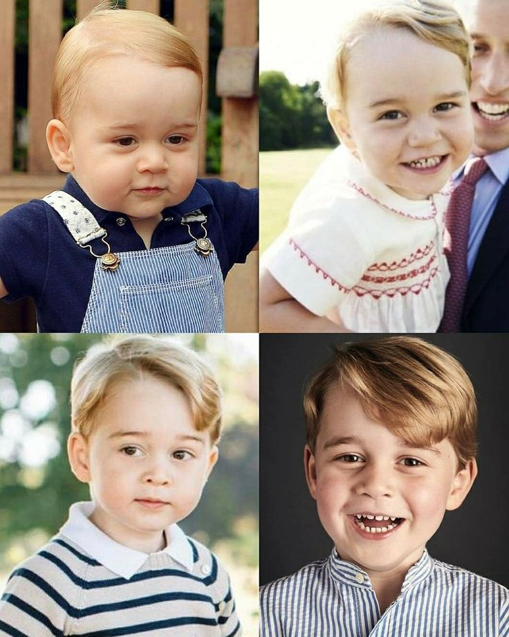 Prince George's 4th birthday All his official portraits