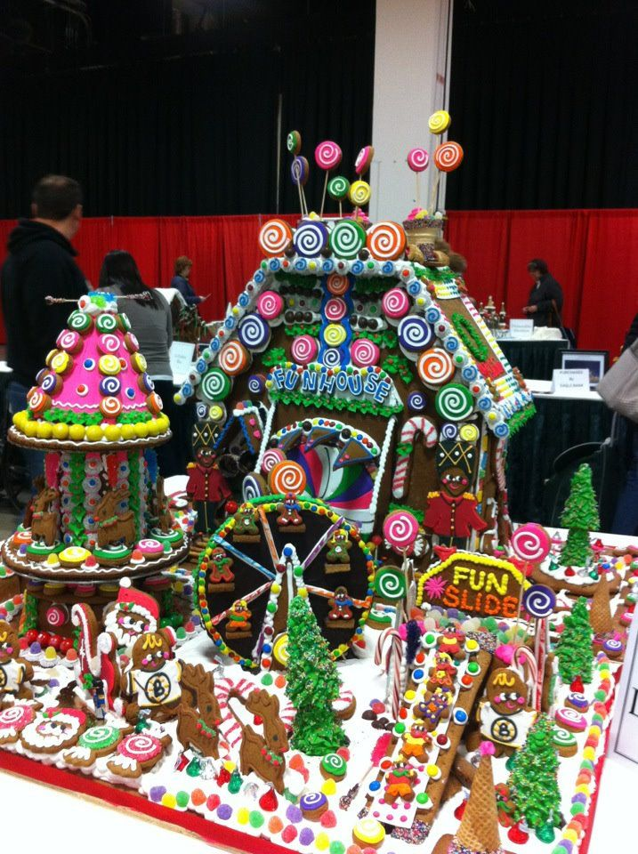 Extreme gingerbread house ideas for Cool designs for gingerbread houses