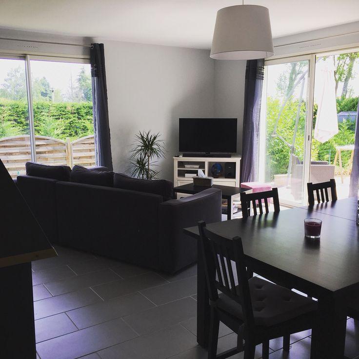 ... Salle à manger  Salon avec nouveau meuble TV  Pinterest  Salons
