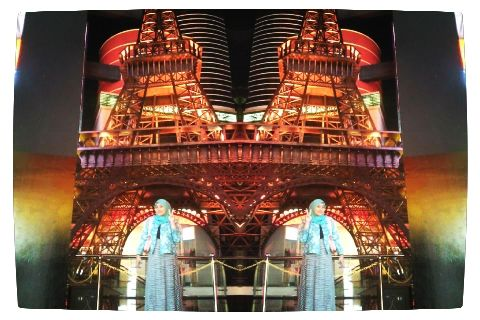 Eifel Tower at Trans Studio Bandung
