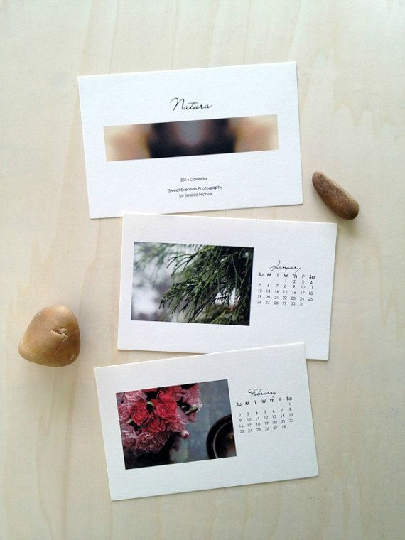 2014 Nature Photo Calendar by Sweet Eventide Photography professionally printed on luxurious textured paper.
