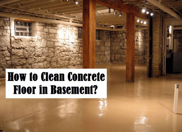 Best 25+ Cleaning Concrete Floors Ideas On Pinterest | Concrete Cleaner,  Clean Concrete And Painted Basement Floors Photo