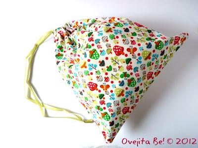 By Ovejita Be!: mini bag for kids! Beautiful colours :)