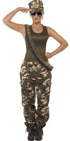 Army Khaki Costume.