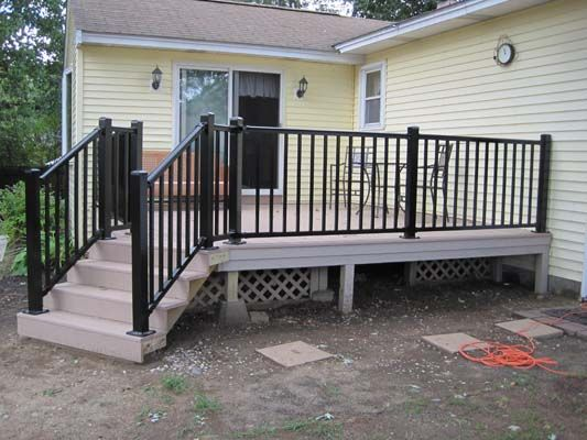 Ordinaire Aluminum Deck Railing Visit Many Deck Railing Ideas Http://awoodrailing.com/