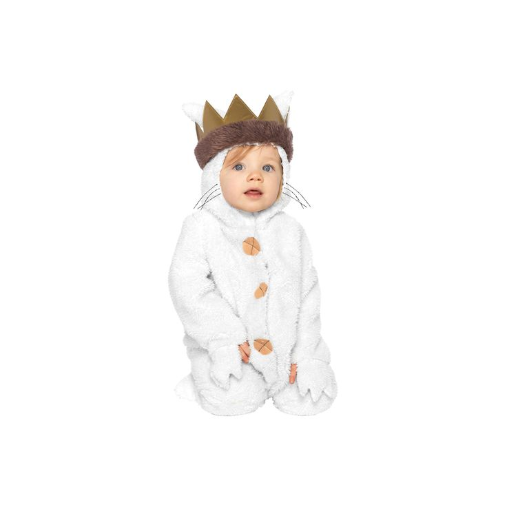 Halloween Boys' Where the Wild Things Are Baby Max Costume 12-18 Months, Size: 12-18 M, Multicolored