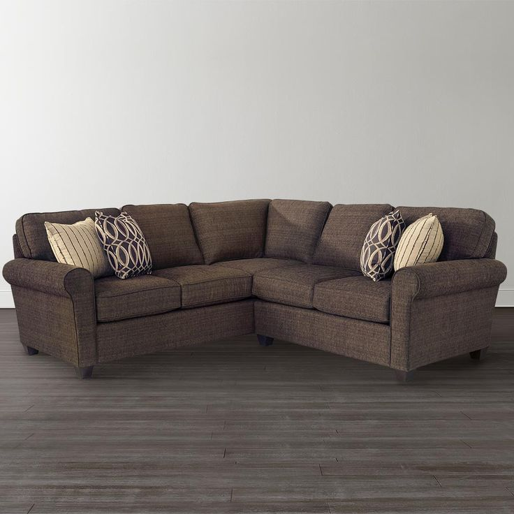 L Shaped Sectional By Bassett Furniture 94 X 91 1999
