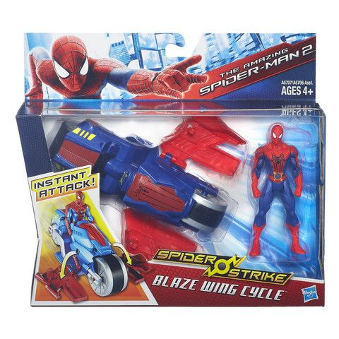 Spider-Man Spider Strike Blaze Wing Cycle by Imagination Lane- They are in stock now!! Hurry before sold out.