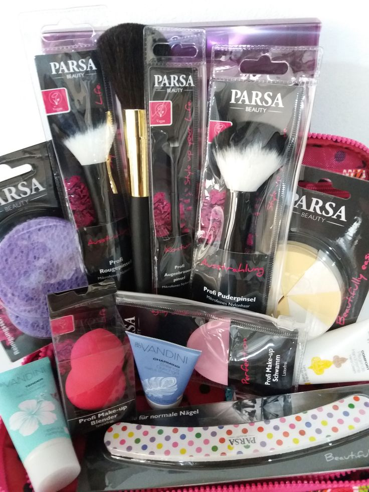 Πινέλα & σφουγγαράκια μακιγιάζ Parsa www.abbeauty.com
