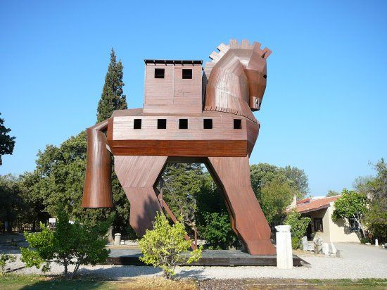 Troy is a legendary city in what is now northwestern Turkey