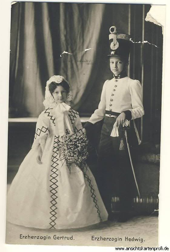 Children of Archduchess Marie Valerie and Archduke Franz Salvator