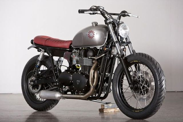 Custom Triumph Bonneville | Kiddo Motors | Custom Triumph Bonneville for sale…