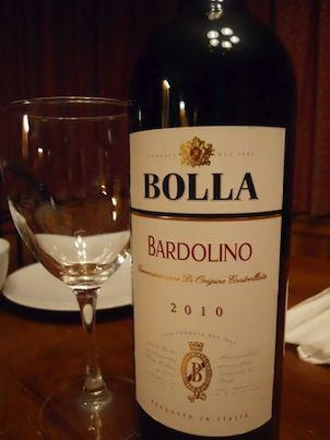 Bolla Wines - Bardolino  enjoy lightly chilled with red-sauced pastas & pizza!