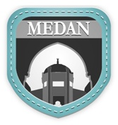 "Medan:  ""Horas!.  Welcome to the capital city of North Sumatra. Enjoy the metropolitan city."""