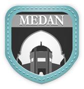 "Medan:  ""Horas!.  Welcome to the capital city of North Sumatra. Enjoy the metropolitan city."""