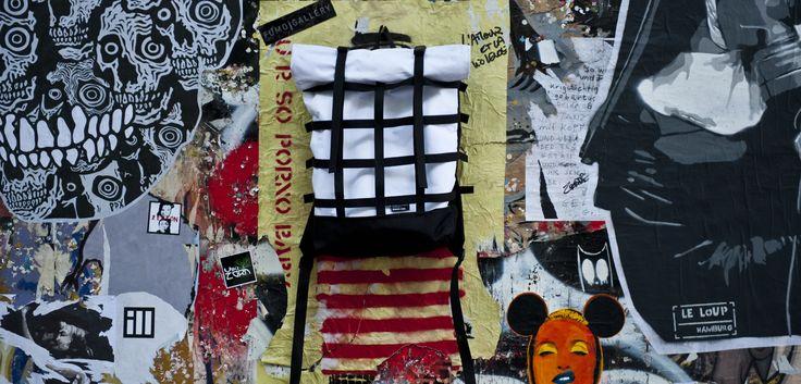 "New urban backpacks at Rook Store ""WEBBING"" by Braasi Industry on sale on www.fumogallery.com Photo by Anna Volpi @braasi @fumogallery  #braasi #urbanbackpack #bike #bicycle #urban #fumogallery #bags #jungle #urbanjungle #bag #backpack #backpacks #fashion #cool #urbanstyle #sportswear #prague #nice #verynice #artgallery #fumo #gallery #rain #snow #travel #mountain #berlin #graffiti #streetart #wall"
