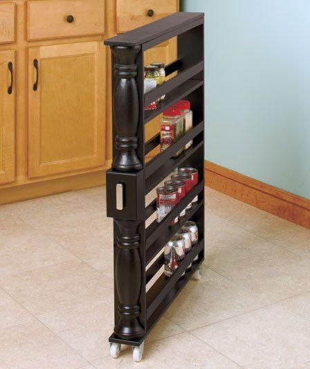 Slide Out Spice Racks For Kitchen Cabinets: Best 25+ Kitchen Spice Storage Ideas On Pinterest
