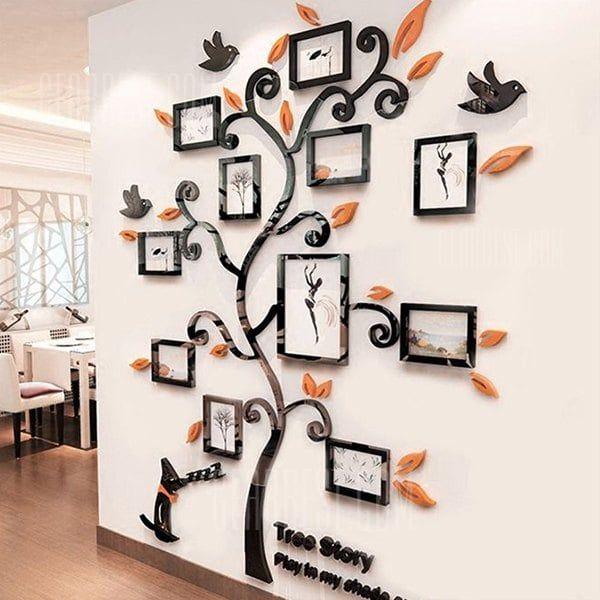 Creative Photo Tree 3d Wall Stickers Sale Price Reviews Wall