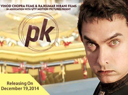 PK 2014 Movie Book Online Tickets