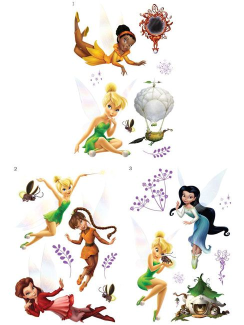 304 best images about disney fairy 39 s on pinterest - Stickers fee clochette ...