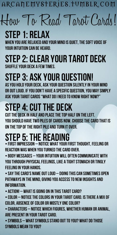 tarot reading tips