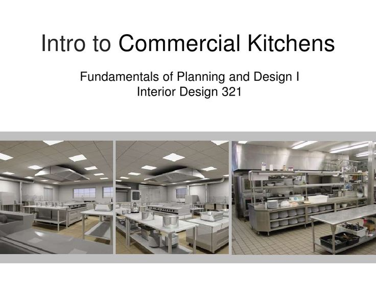 25 Best Ideas About Commercial Kitchen Design On