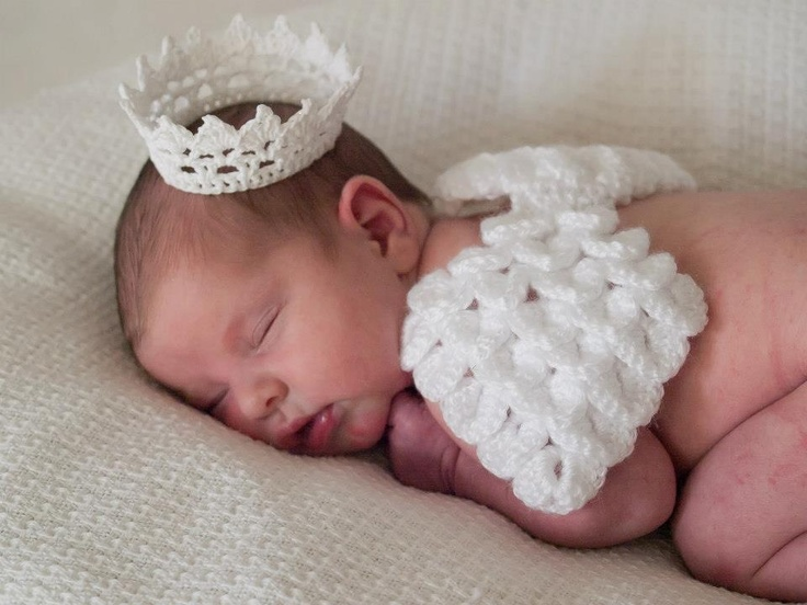 Crochet Angel : Crochet angel wings and crown Holiday crafts Pinterest Wings ...